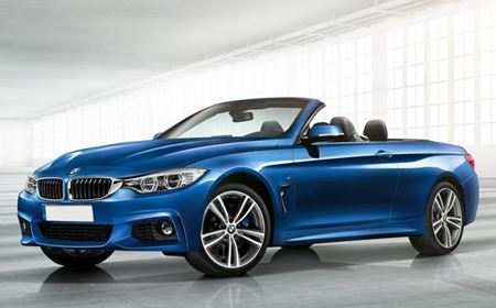 Picture of BMW 4 series Convertible 420d M Sport